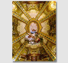 Cupola elicoidale del Santuario di Sommariva del Bosco